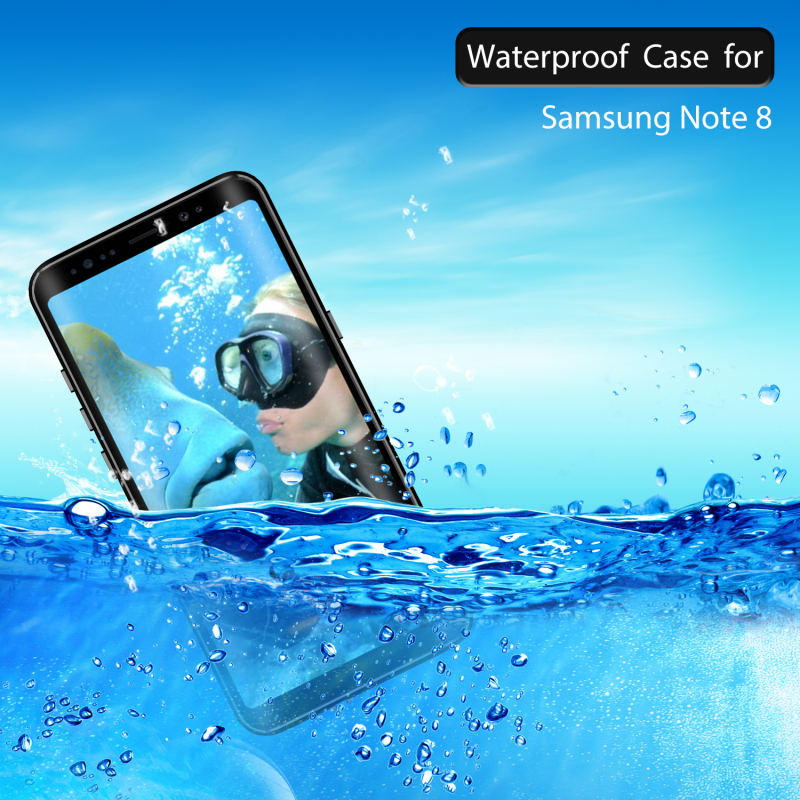 Waterproof case For Coque Samsung Note 8 Case Note8 Cover Samsung Galaxy S9 Plus Case Swimming