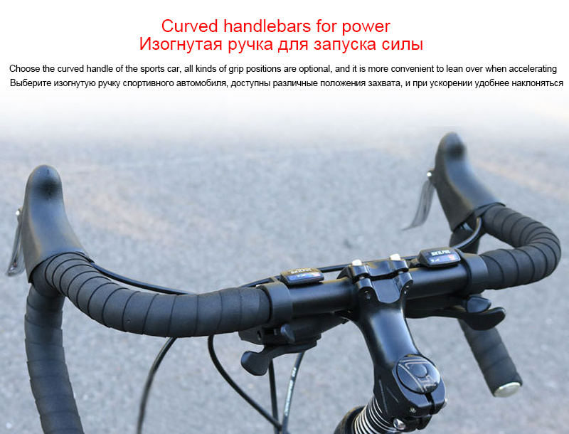 700c road bike 21 27 and 30 variable speed double disc brake ultra light Aluminum alloy road bike adult bicycle