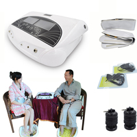 2016  Ion Far Infrared Ionic Cleanse Detox Foot Bath Machine Detox Array Combined with detox foot spa use 110-240V DHL shipping