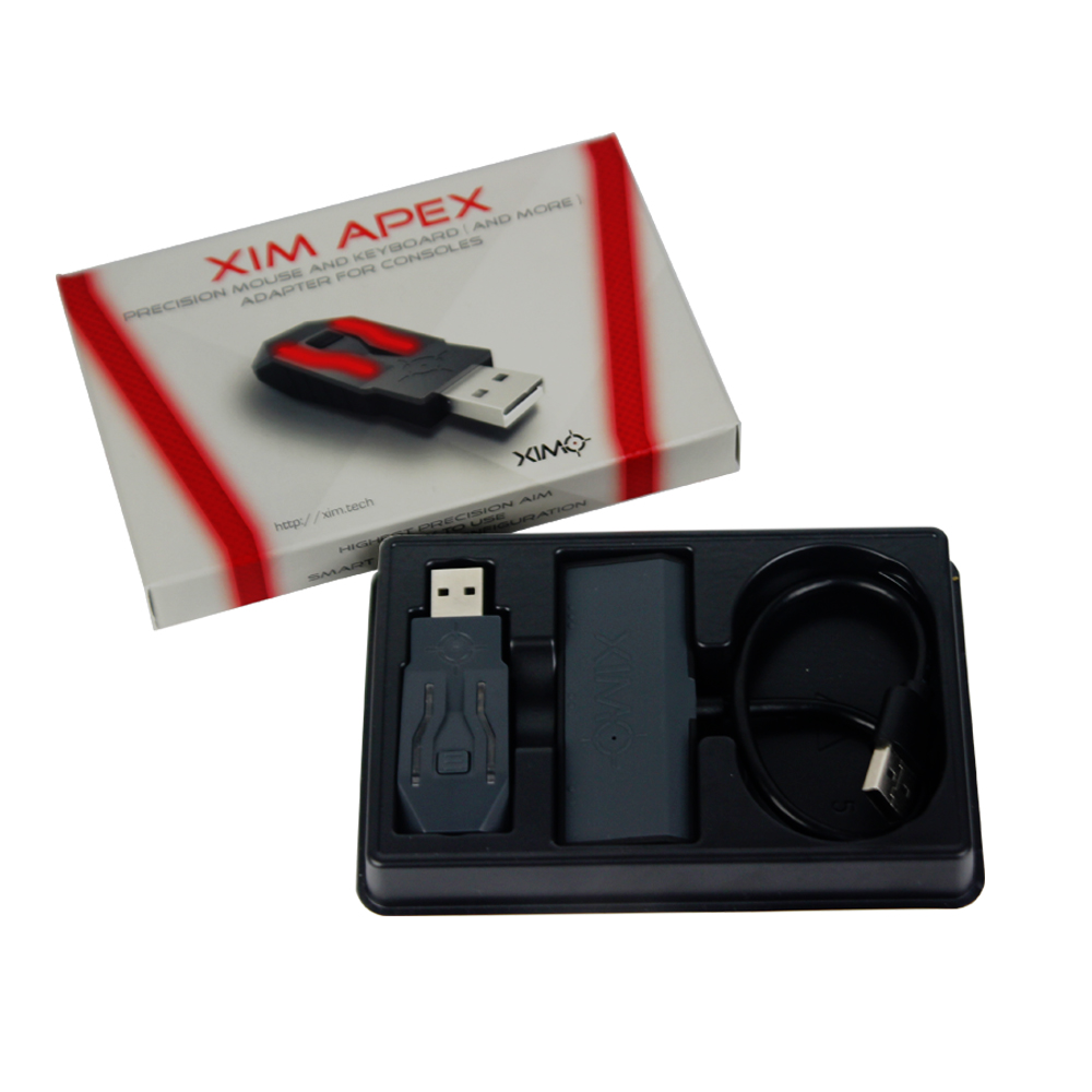US $62 0 16% OFF|XIM APEX highest Precision Mouse and Keyboard Adapter  Conventer for Xbox One/ for Xbox 360 for PS4 / for PS3 for PS4  Accessories-in