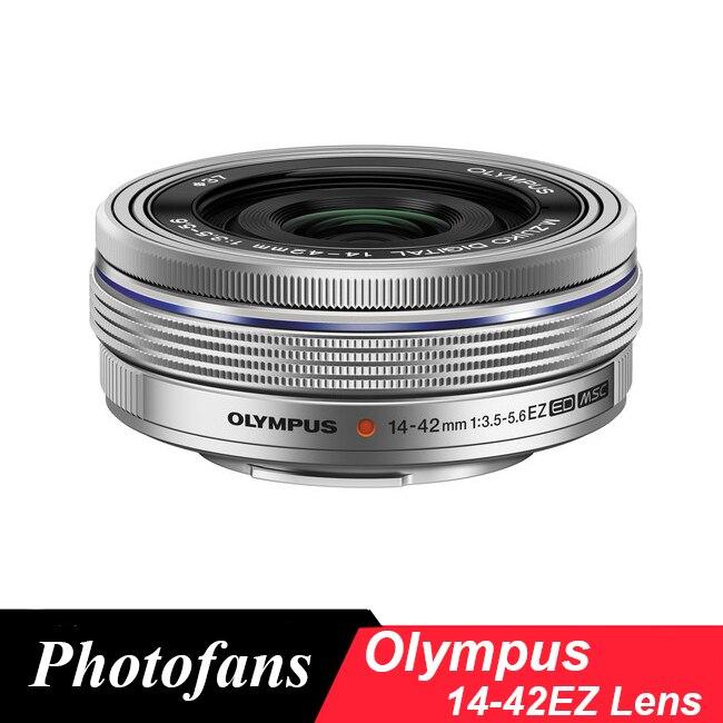 Olympus 14-42 lens for m43 M.Zuiko Digital ED 14-42mm f/3.5-5.6 EZ Lenses olympus m zuiko digital ed 75mm f 1 8 серебристый