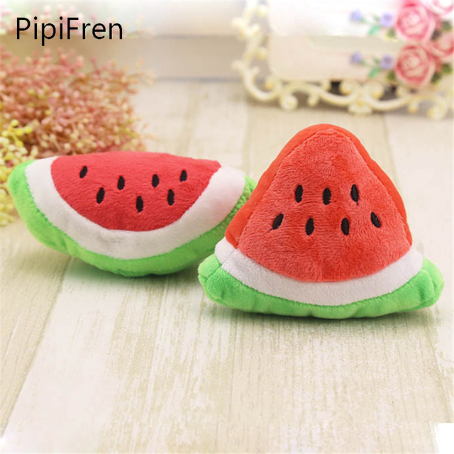 pipifren watermelon cats toys accessories small dog products for