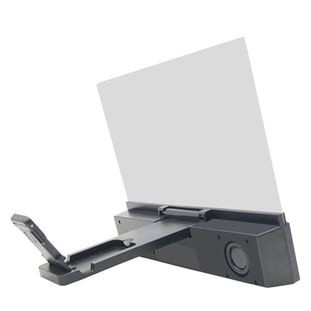 """Image 5 - 3D HD Phone Screen Magnifier Bracket 12"""" Phone Desktop Movies Amplifier Stand Holder For Smartphone With Bluetooth Speaker-in Phone Holders & Stands from Cellphones & Telecommunications"""