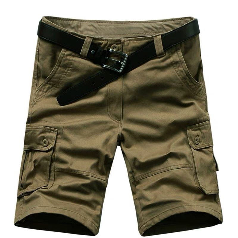 Green Men Short 2019 Summer Cargo Men Casual Military High Quality Brand Classic Beach Shorts Plus USA Size W 29-42 44 46