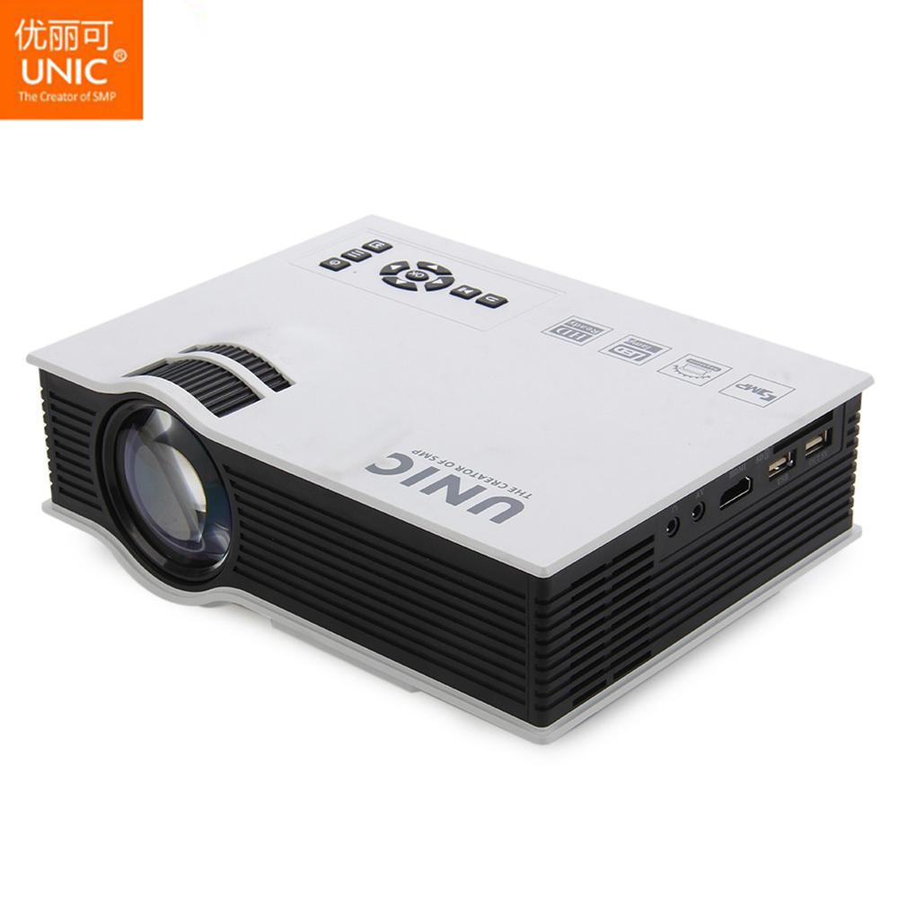 Prix pour Profession unic uc40 + projecteur mini portable 3d hdmi home cinéma beamer projecteur multimédia full hd 1080 p lecteur vidéo et uc40