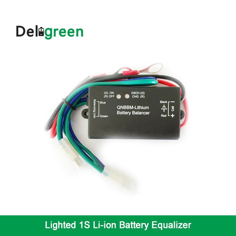 16 шт. эквалайзер батареи с светодио дный индикатор 1 S Single Cell Li Ion LiFePO4 LTO NCM полимер 18650 DIY BMS Батарея балансировки