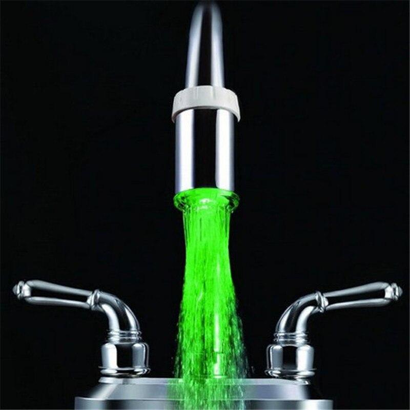 Смесители для умывальника светодиодный свет водопроводный кран Glow светодиодный Термометры коснитесь головку для душа Для ванной Контроль ...