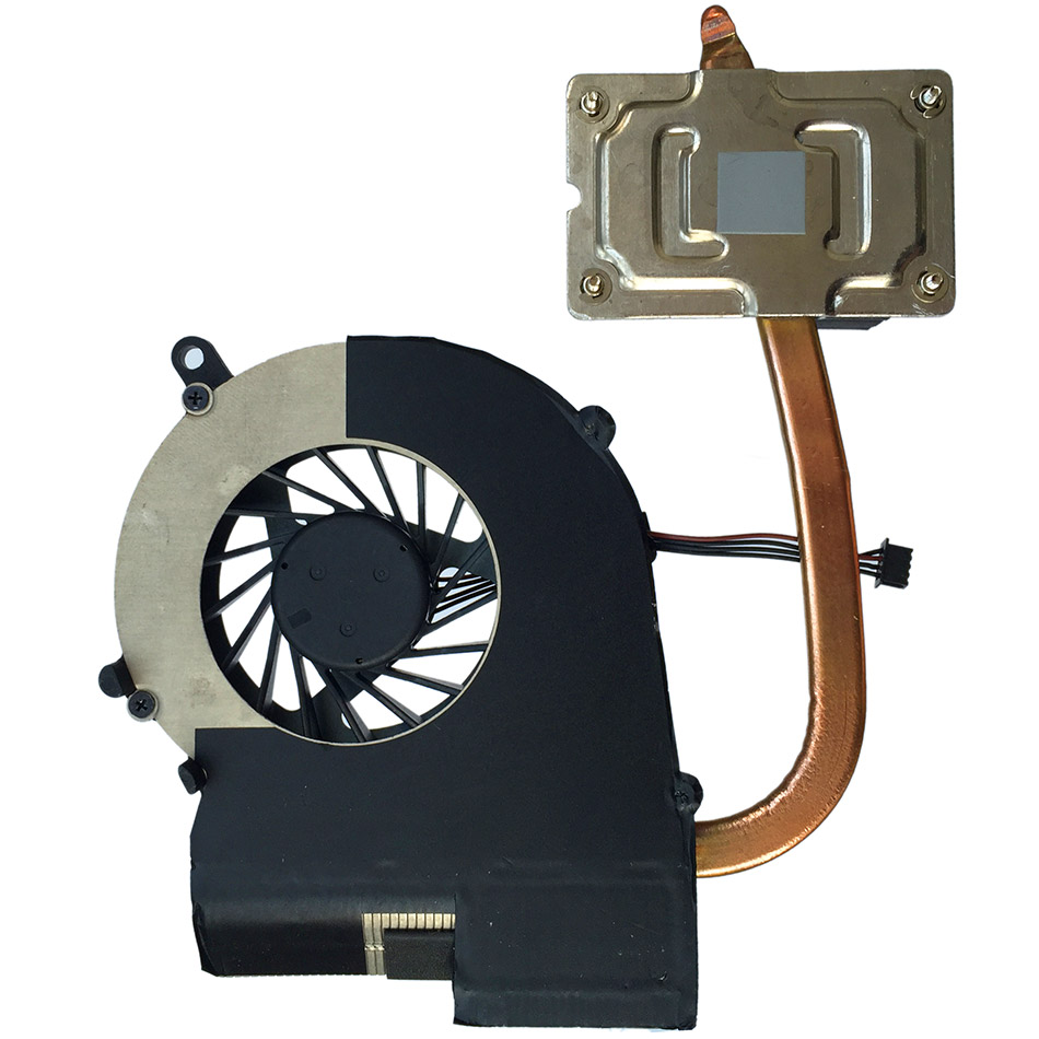 New CPU Cooling Fan&Heatsink For HP 650 655 Compaq Presario CQ58 / 686259-001 new original heatsink fan for hp