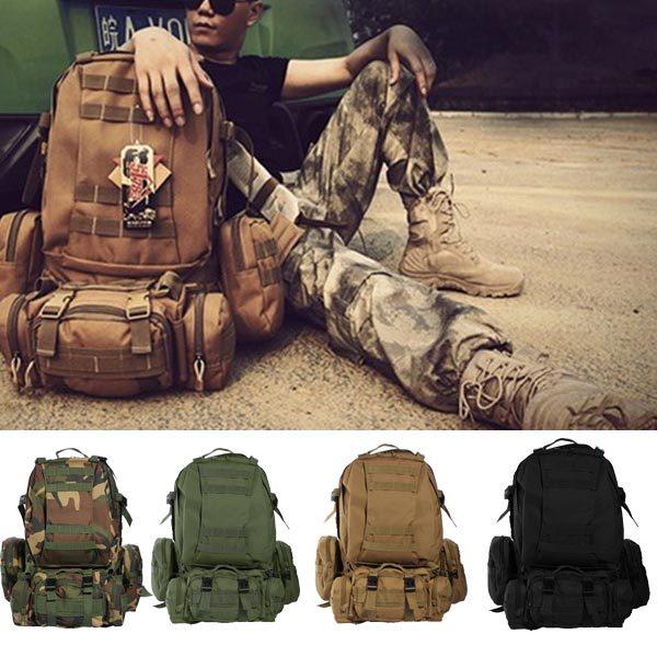 ФОТО 2016 New Camo Military Rucksacks Backpack Travel Bags