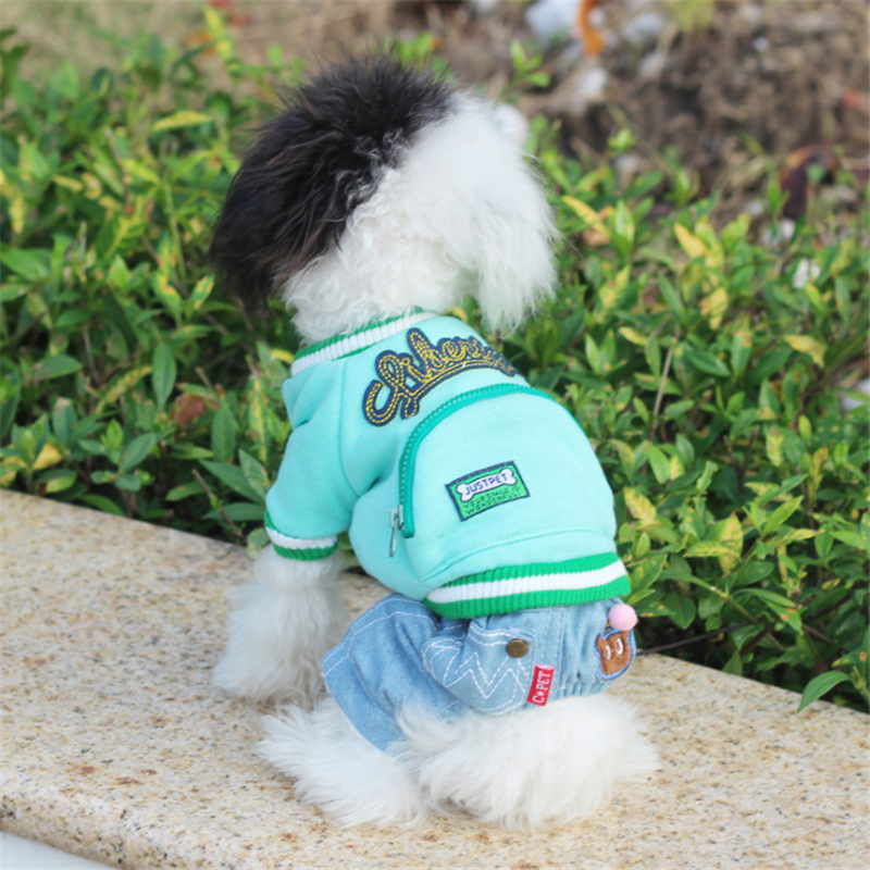 Kawaii Coat Comfortable Cotton Jacket Dog Clothes Dog Jumpsuits Rompers Clothes for Dogs Free Shipping Winter Hot Sale JL023 ...