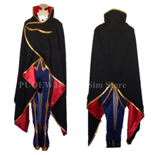 Code Geass Zero Lelouch Cosplay Costume With Shoes Cover