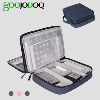 10.1 Tablet travel Case Portable Transport Bag 10.5 Universal 7 Inch Tablet Case for IPad 2018 Handbag Double Travel Bag