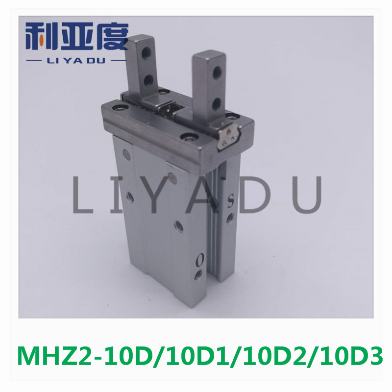 MHZ2-10D MHZ2-10D1 MHZ2-10D2 MHZ2-10D3 pneumatic finger cylinder parallel open double-acting air claw mhz2 20d2 mhzl2 20c mhz2 20c smc finger cylinder air cylinder pneumatic component air tools mhz2 series