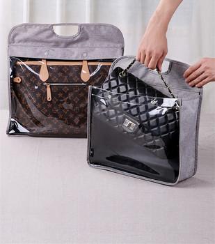 Przezroczyste luksusowa torebka osłona przeciwpyłowa torba Protector torba do przechowywania tanie i dobre opinie 8002 PRINTED Nowa klasyczna po nowoczesne Mieszanie Stałe