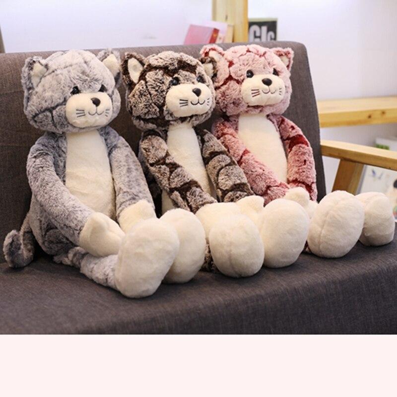 Plush Dolls Cat Stuffed Animals Plush Soft Toys for Children Girls Kids Baby Birthday Christmas Gifts