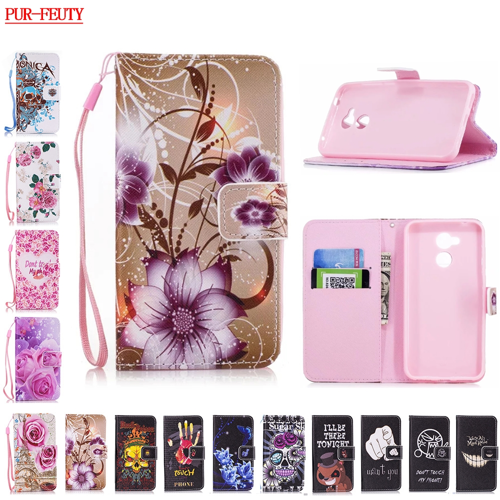Flip Case for Huawei Honor 6A 6 A 6 a DLI-AL10 DLI-TL20 Cases Phone Leather Covers for Huawei Honor A6 DLI AL10 TL20 Cover Bags