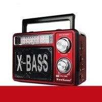 Retro Woodgrain FM/AM/SW Radio Speaker Player SD/TF/USB Pointer Outdoor Sports Solar Radio with Light MP3
