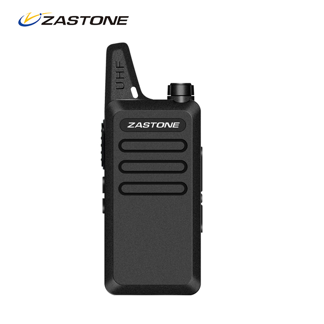 Zastone ZT-X6 Mini Walkie Talkie UHF 400-470MHz Frequency 5W Two Way Radio FM Transceiver Handheld Communicator X6 CB Ham Radio