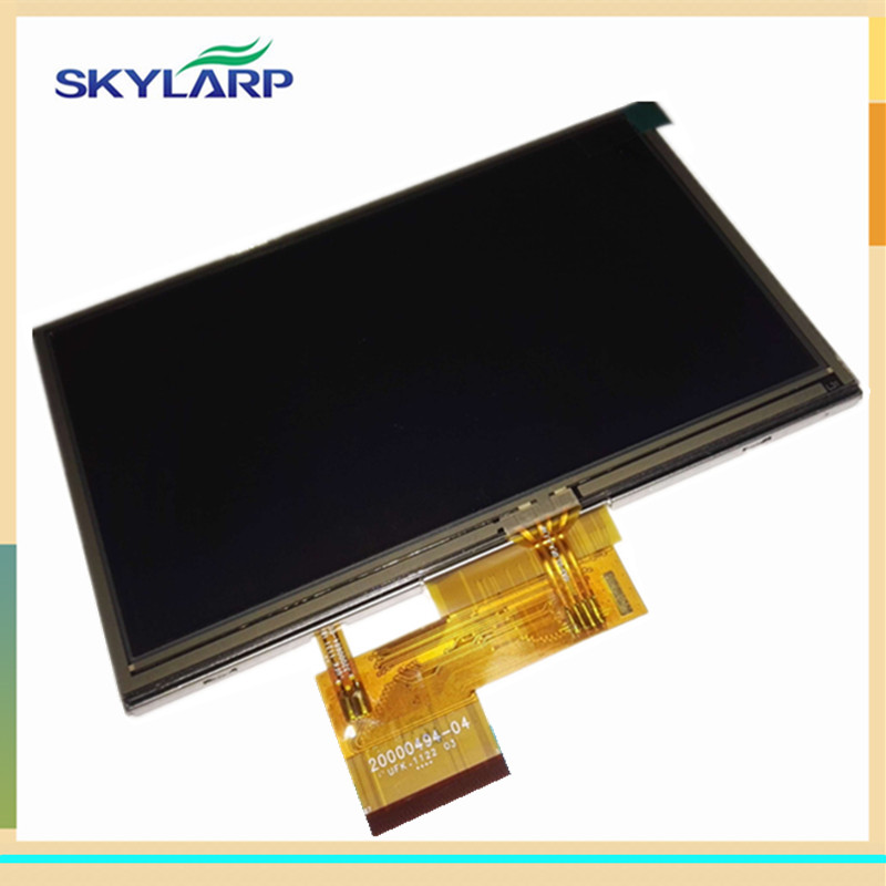 Original 5 inch TFT LCD Screen for GARMIN Nuvi 2470 2470T display Screen panel with Touch screen digitizer replacement original 3 5 inch lcd screen display panel for toppoly td035sted3 lcd display panel touch digitizer glass tft replacement parts
