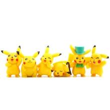 18pcs Kawaii Pikachu Toys