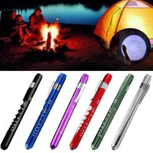 Multi Function Portable Medical First Aid LED Pen Light Flashlight Torch Doctor EMT Emergency Useful
