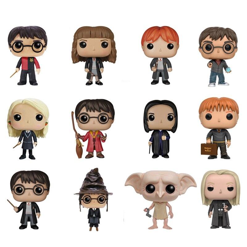 Nuevo Harry Potter y la Piedra Filosofal 10 cm Snape Doppy figuras de acción PVC modelo navidad cumpleaños Regalos Coche decoración
