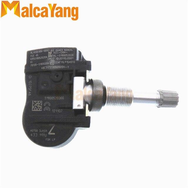 40700 3JA0A Replacement Tire Air Pressure Monitor Sensor TPMS For Infiniti / Nissan /Altima