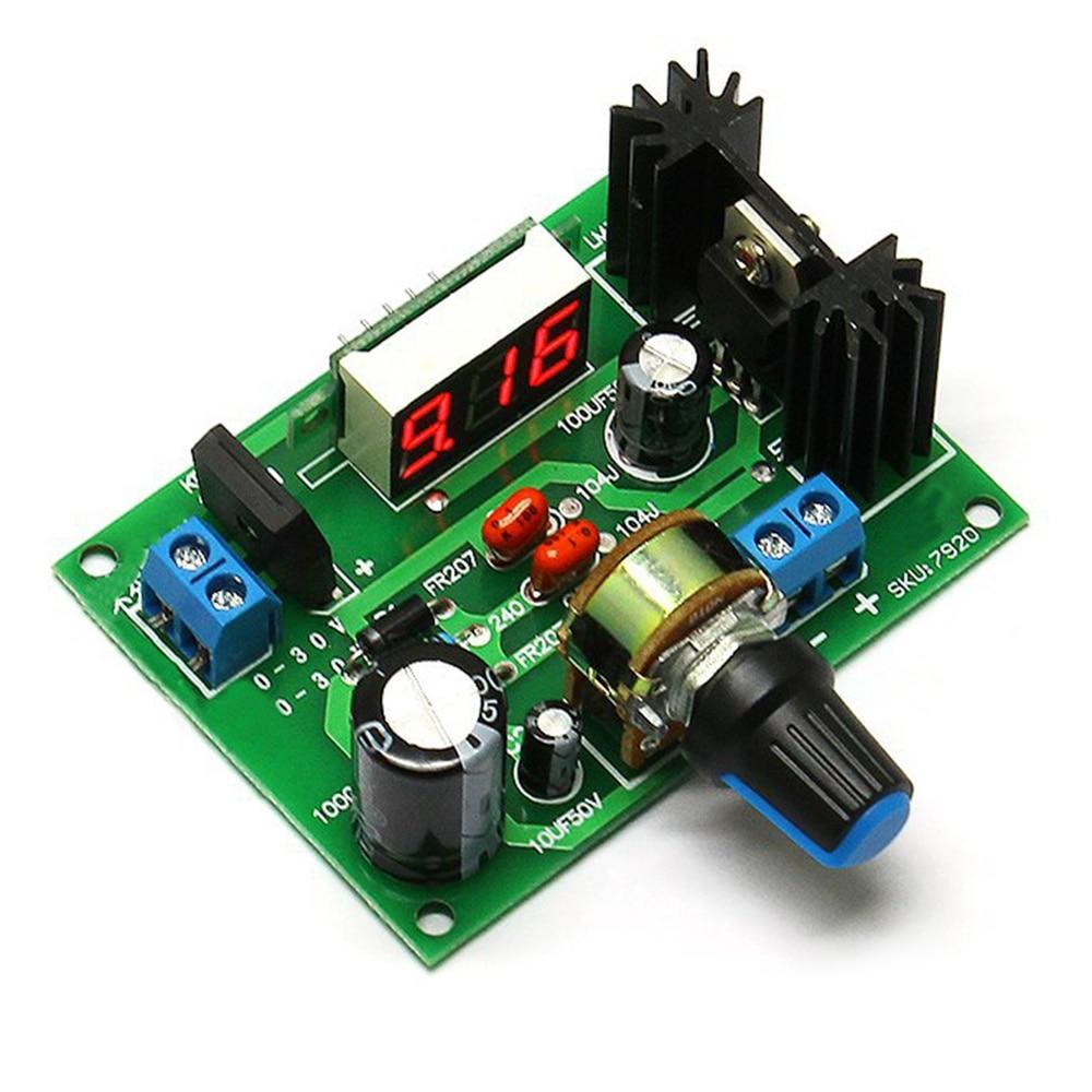 Accessories Voltage Regulator LM317 Step-down Module Power Supply Board