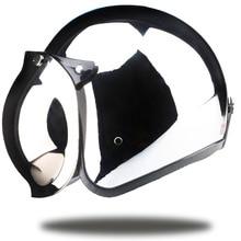 Brands vintage motorcycle font b helmet b font jet capacetes de motociclista harley sliver chrome vespa
