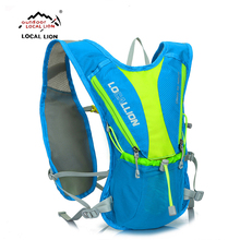 LOCALLION professional cycling backpack breathable bicycle bag rainproof outdoor riding bike bags running bag Sport Rucksacks