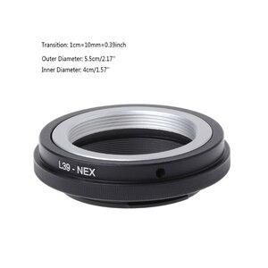 Image 5 - 2018 yeni L39 NEX montaj adaptörü halka Leica L39 M39 Lens Sony NEX 3/C3/5/ 5n/6/7
