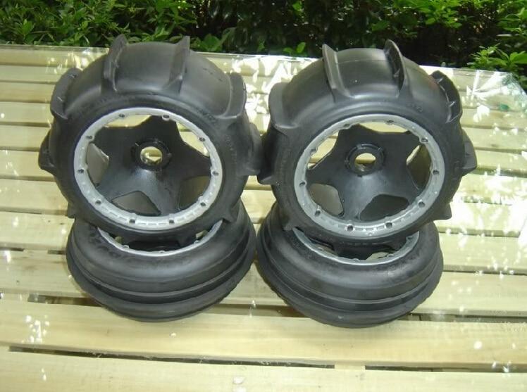 Sand tires set for 1/5 Baja 5B SS ulgran u 405 sand