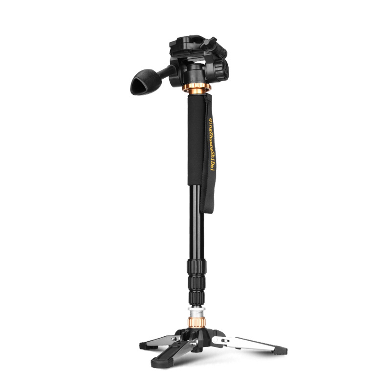 QZSD-Q158S Monopod kit base can connect with the mini tripod directly with Q01 Handle head roomble progetti q01