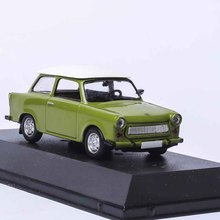 1/43 Trabant 601 Limousine DDR-AUTO Kollection ATLAS DIECAST CAR MODEL Green New