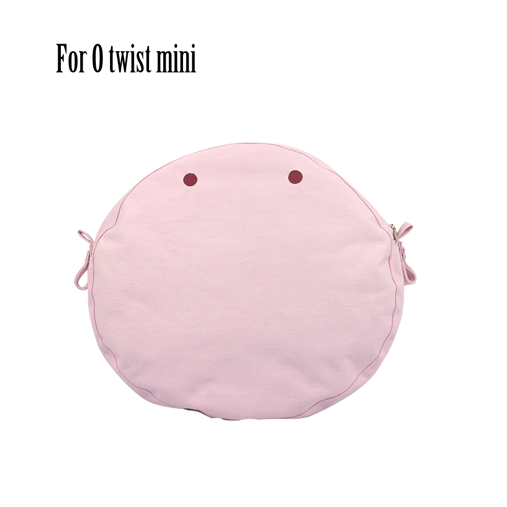 2019 New Waterproof Inner Lining Insert Zipper Pocket For Obag Twist Mini For O Bag Women Bag Shoulderbag