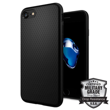 100% Original SGP Liquid Armor Case for iPhone 7 (4.7″) Premium Matte TPU Durable Flex Case Black 042CS20511