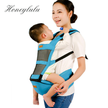 Honeylulu Summer 2 in 1 Baby Carrier 3D Breathable Mesh Sling For Newborns Ergoryukzak Backpack Kangaroo Hipsit Wrap