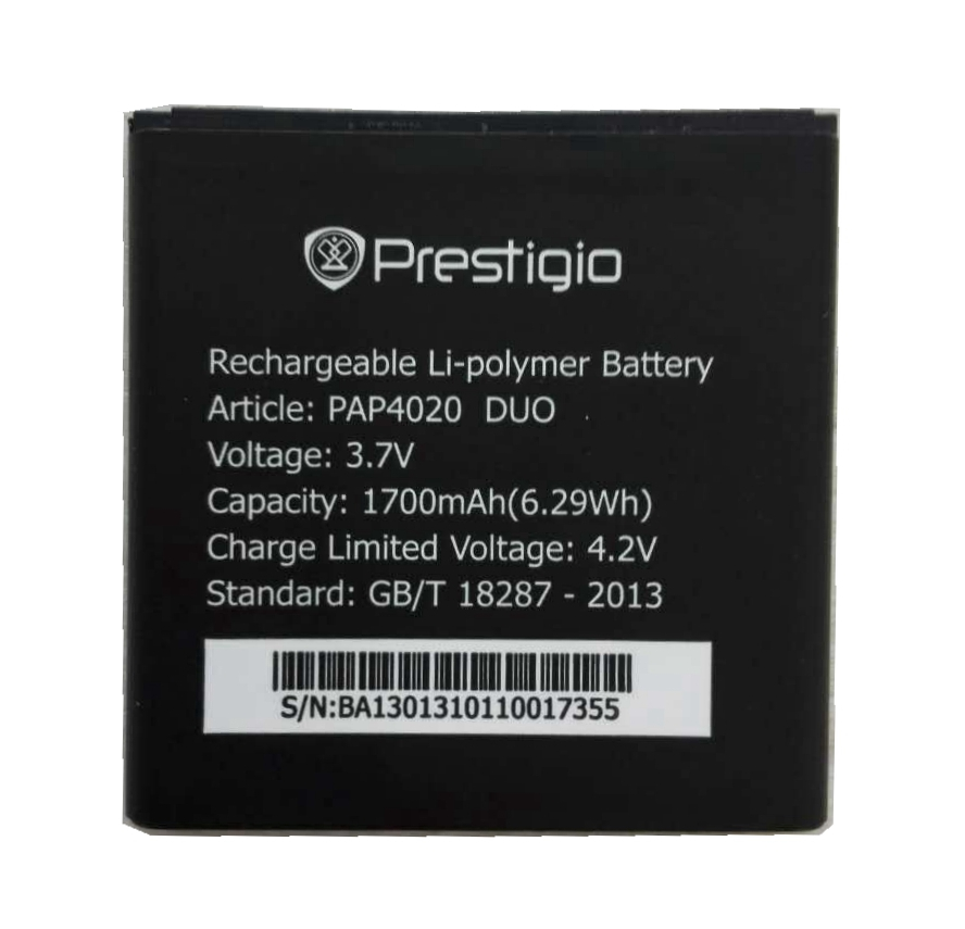 PAP4020 DUO 1700mah High Quality Replacement Li-ion Battery Battery for Prestigio PAP4020 DUO MultiPhone Battery