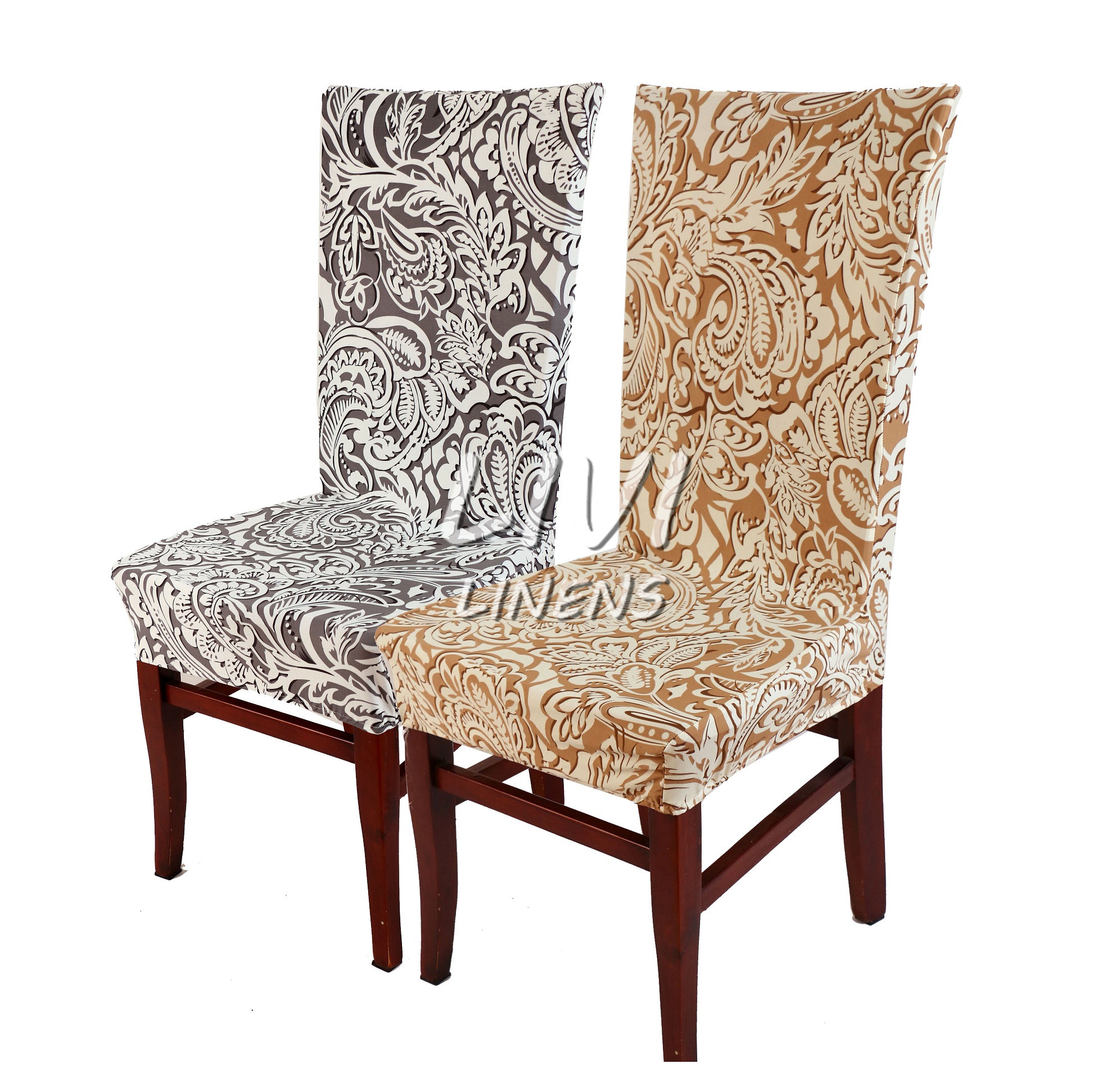 Dining Chair Covers In Store Camping With Cooler Aliexpress Buy Super Fit Stretch Removable Washable