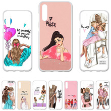 Baby Mom Girl Case For Samsung A50 Case Silicone Cover For Samsung Gal