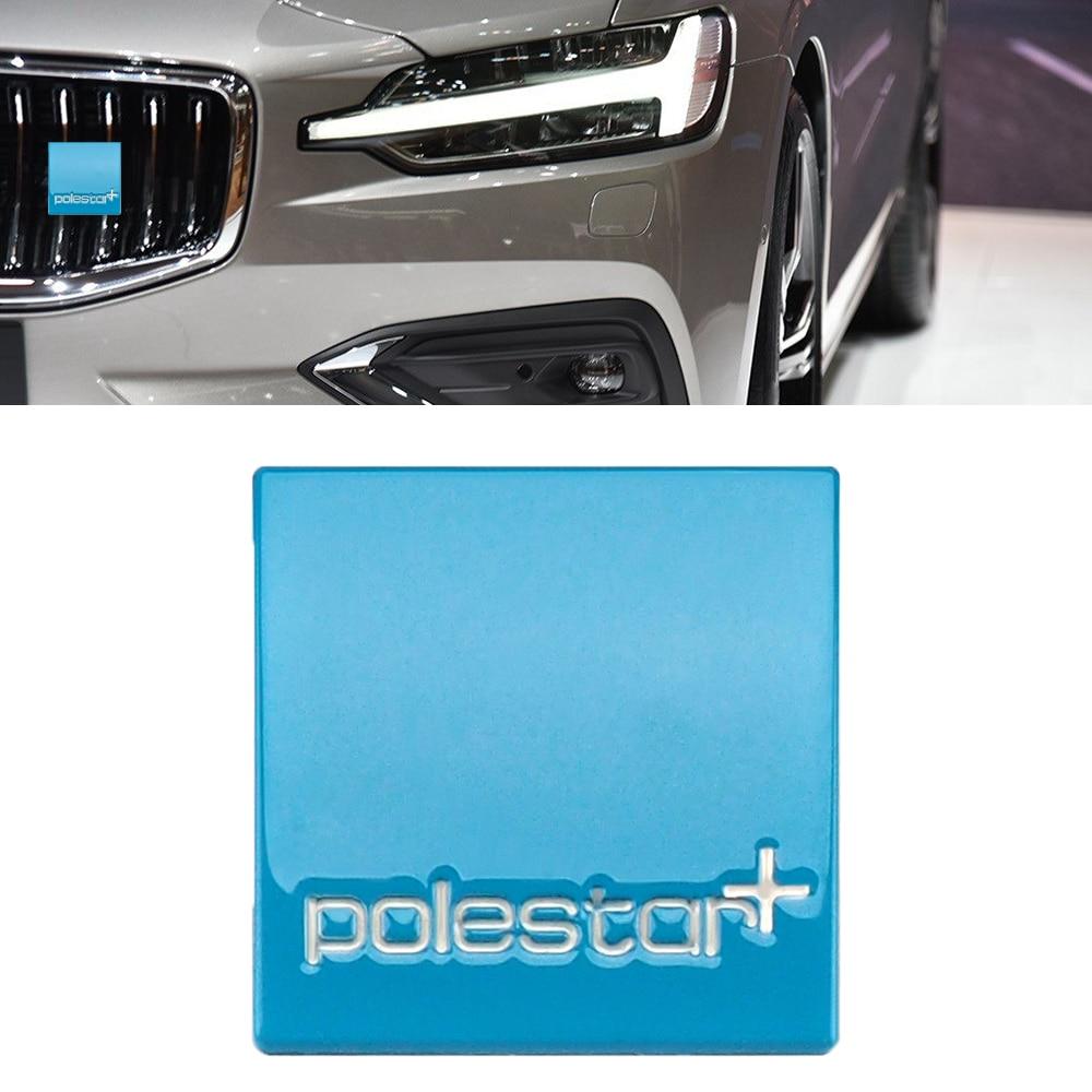 Polestar Metal 3d Sticker Car Front Grill Rear Trunk Badge