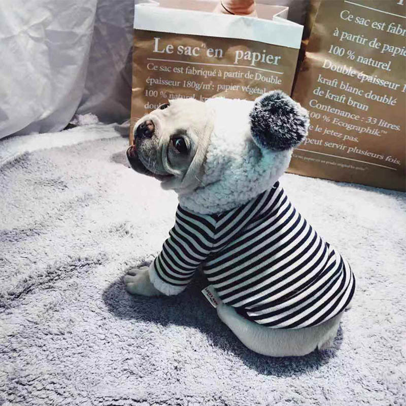 Black-Striped-Fleece-Hoodie