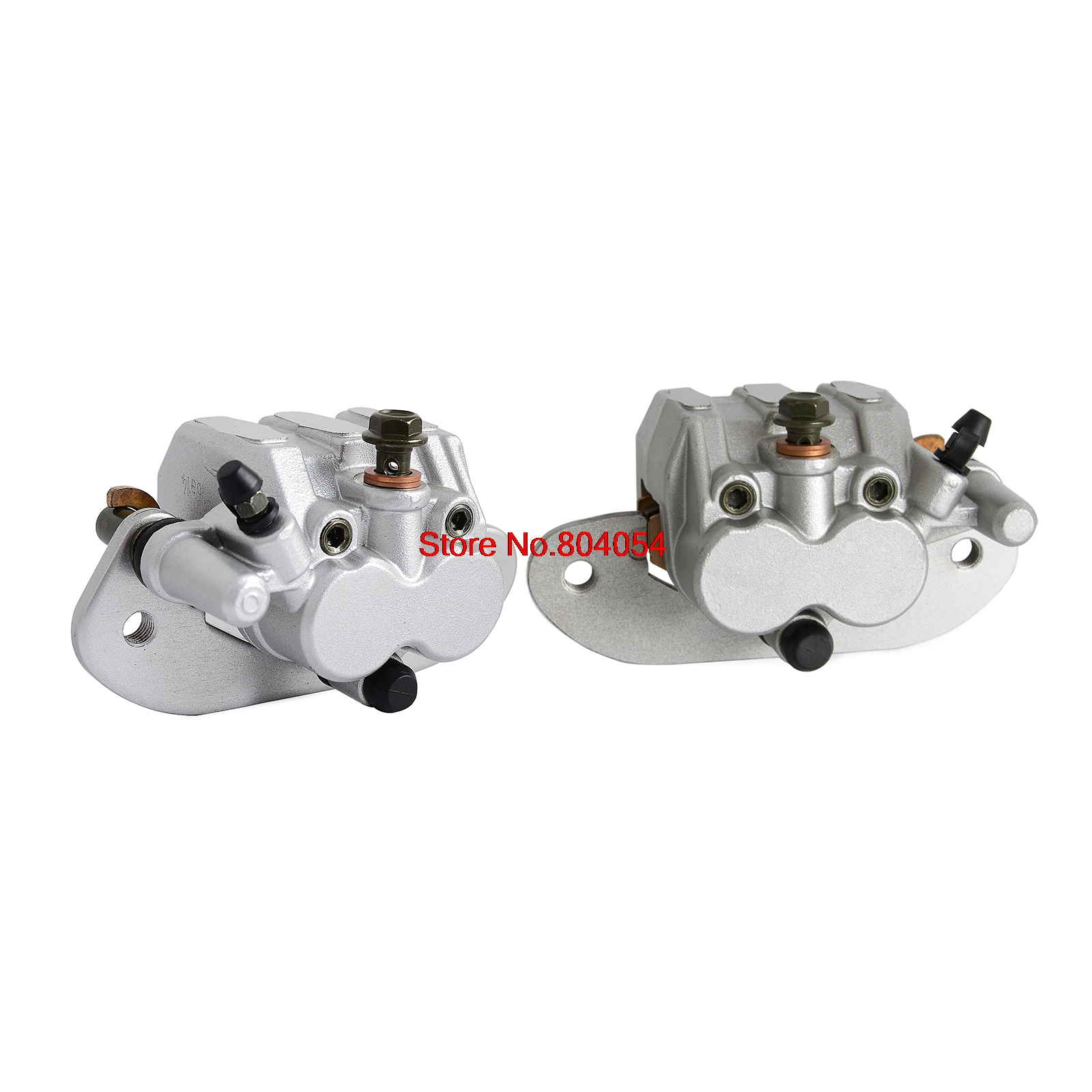 Rear Left & Right Brake Caliper Set With Pads For Yamaha UTV Rhino 700 2008 - 2013 2009 2010 2011 2012 NEW new front brake caliper with pads fits for yamaha utv rhino 660 2004 2005 2006 2007