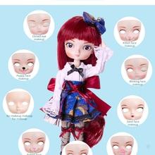 BB кукла для лица-тарелка без макияжа и макияжа