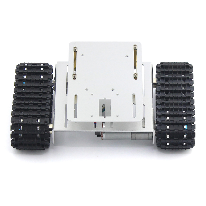 DIY Crawler Robot Tank Car Chassis Aluminium Alloy Chassis Bottom Intelligent Toy 4k uhd телевизор lg 49 uj 740 v