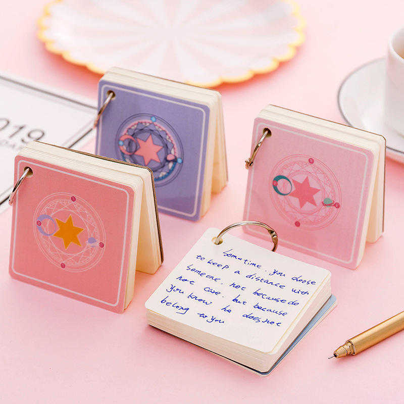 Flash Card Language Study Note Cute Memo Pad Stationery Notepad Memopad Stationary Index Tab School Office Decoration Flashcard