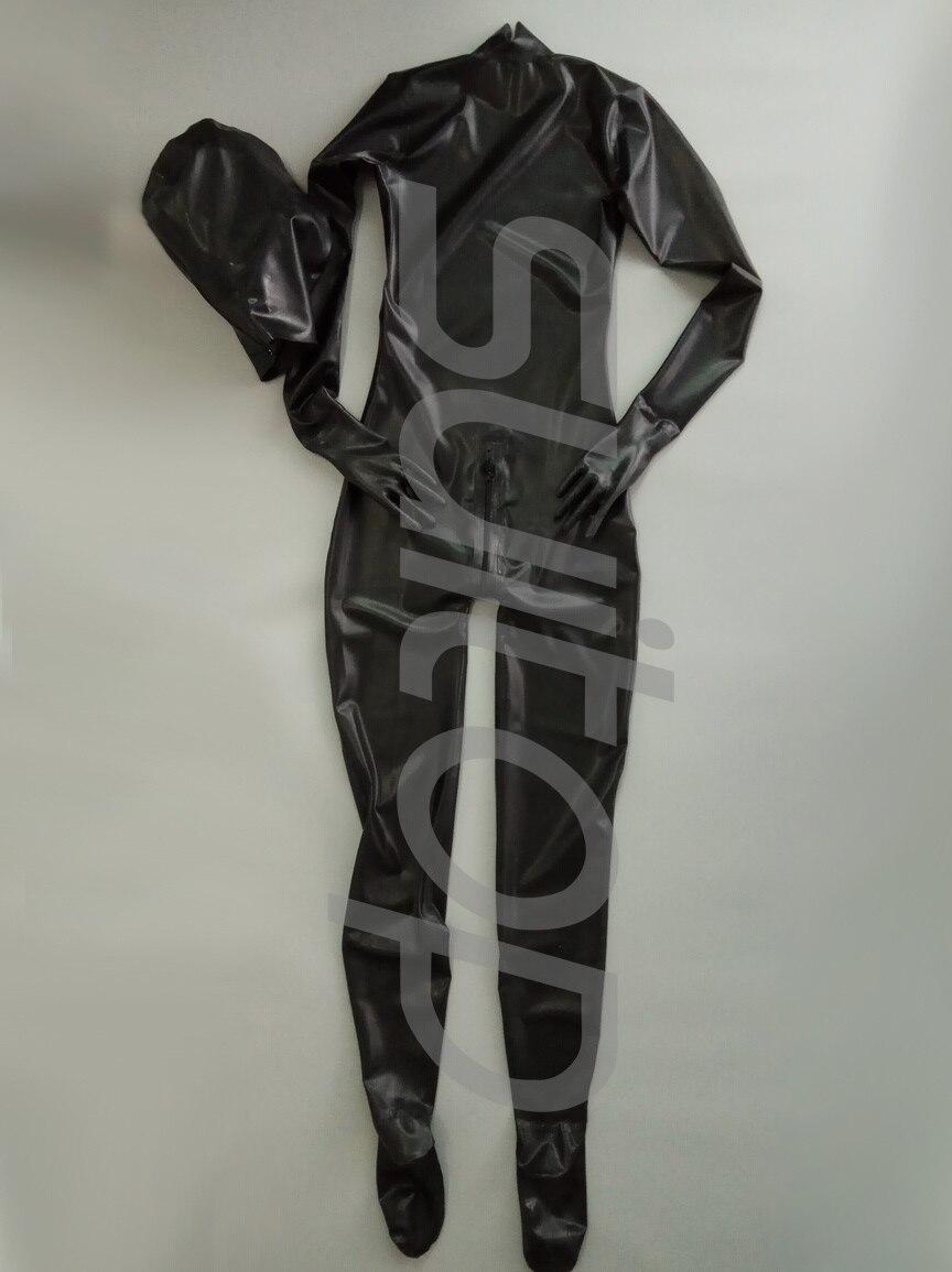 100/% Latex Rubber Gummi Pants 0.8mm Jeans Trousers Cod Piece With Trim Catsuit