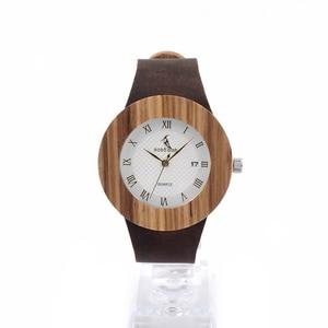 Image 3 - Original Brand Watches BOBO BIRD Men Luxury Watch Men Zebra Wood Wristwatches as Gifts relogio masculino C C01