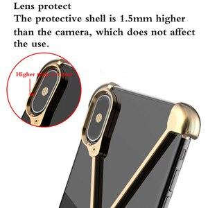 Image 2 - Thermorytic 모델 X 케이스 휴대 전화 로즈 골드 알루미늄 안티 가을 금속 핸드폰 쉘 블랙 없음 프레임 보호 커버