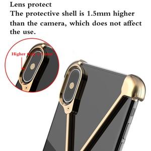 Image 2 - Thermoryticモデルxケース携帯電話ローズゴールドアルミ抗秋メタル携帯電話シェルブラックなしフレーム保護カバー